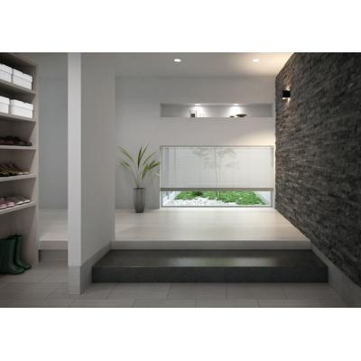 シルキーカーテン 遮熱コート(15mmブラインド) 写真