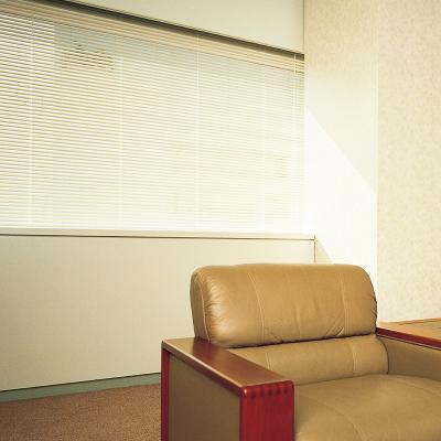 シルキーメカニカル25 (25mmブラインド)・遮熱スラット 写真